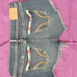 Blue Jean shorts size 25